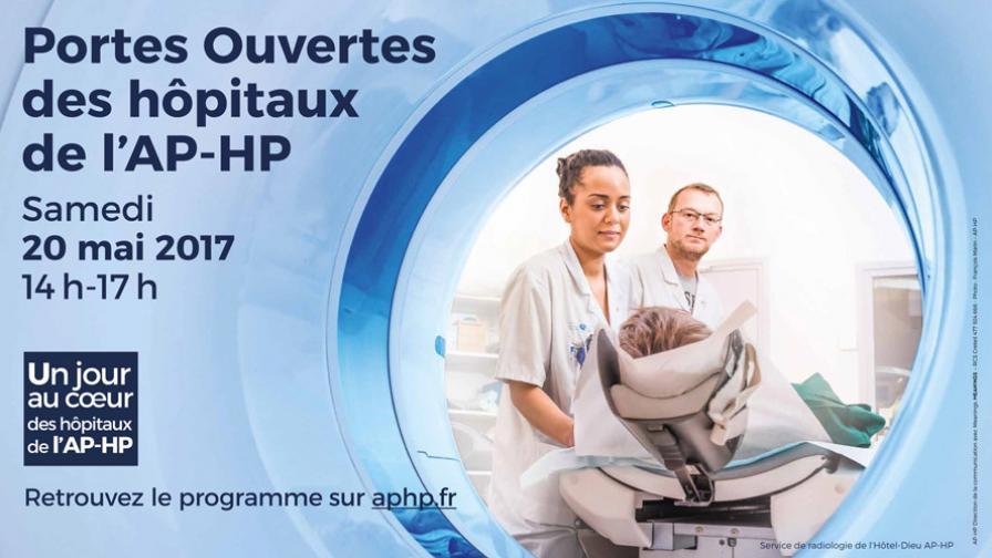 Porte Ouvertes des hôpitaux de l'AP-HP dans 3 - Informations :