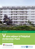 Couverture livret hôpital Ambroise-Paré