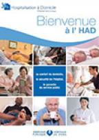 Couverture livret Hospitalisation à domicile