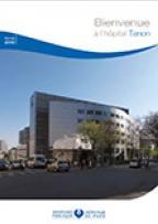 Livret d'accueil patient hospitalisé Tenon